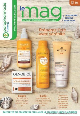 E.Leclerc catalogue publicitaire (valable jusqu'au 06-07)
