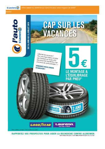 E.Leclerc catalogue publicitaire (valable jusqu'au 13-07)