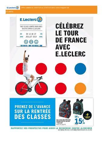 E.Leclerc catalogue publicitaire (valable jusqu'au 27-07)