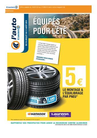 E.Leclerc catalogue publicitaire (valable jusqu'au 17-08)