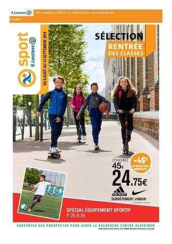 E.Leclerc catalogue publicitaire (valable jusqu'au 14-09)