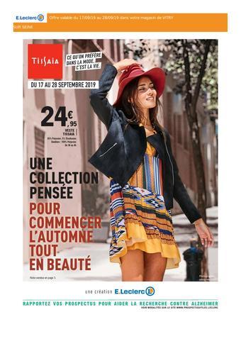 E.Leclerc catalogue publicitaire (valable jusqu'au 28-09)