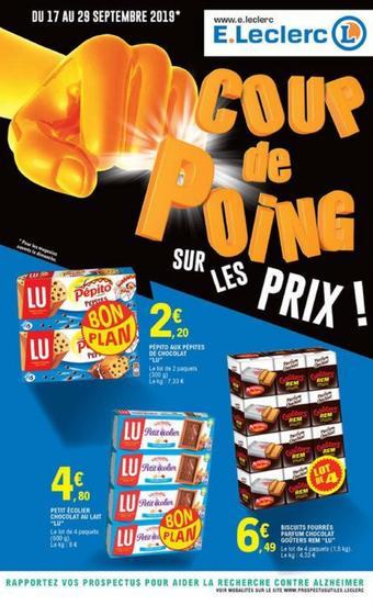 E.Leclerc catalogue publicitaire (valable jusqu'au 29-09)