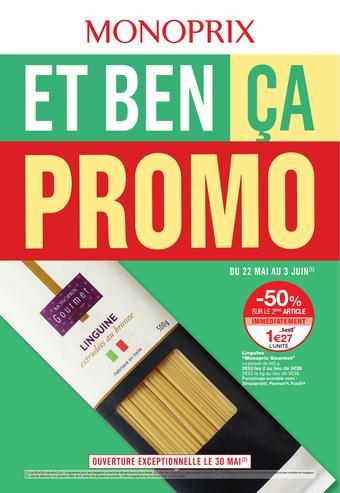 Monoprix catalogue publicitaire (valable jusqu'au 03-06)