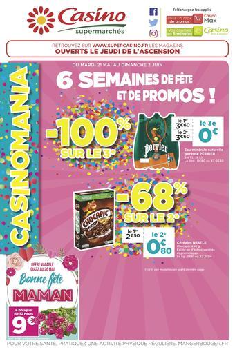 Casino Supermarchés catalogue publicitaire (valable jusqu'au 09-06)