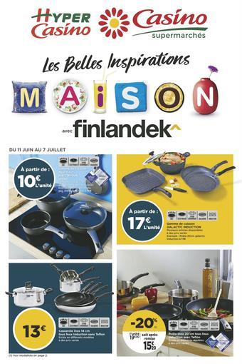 Casino Supermarchés catalogue publicitaire (valable jusqu'au 08-07)