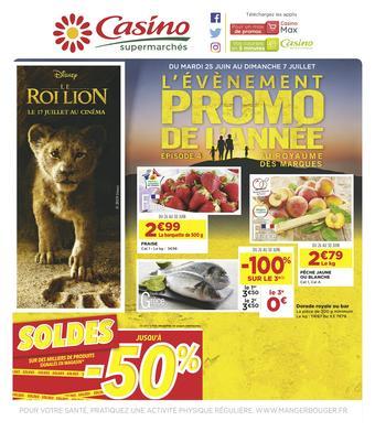 Casino Supermarchés catalogue publicitaire (valable jusqu'au 07-07)