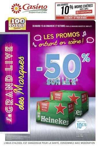 Casino Supermarchés catalogue publicitaire (valable jusqu'au 27-10)