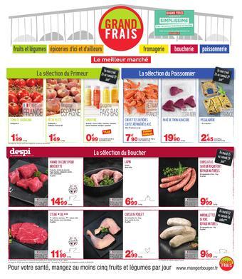 Grand Frais catalogue publicitaire (valable jusqu'au 29-07)