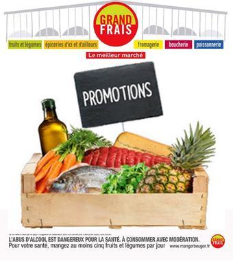 Grand Frais catalogue publicitaire (valable jusqu'au 22-09)