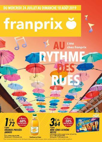 Franprix catalogue publicitaire (valable jusqu'au 18-08)