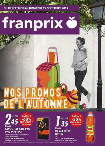 Franprix catalogue publicitaire (valable jusqu'au 29-09)