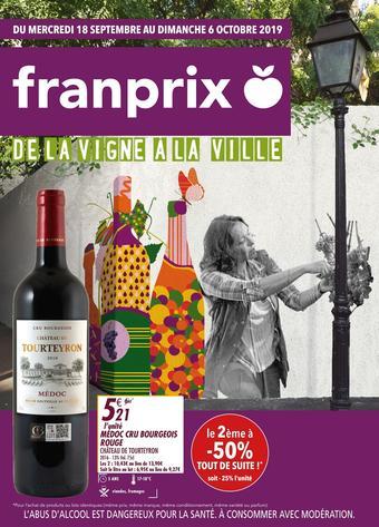 Franprix catalogue publicitaire (valable jusqu'au 06-10)
