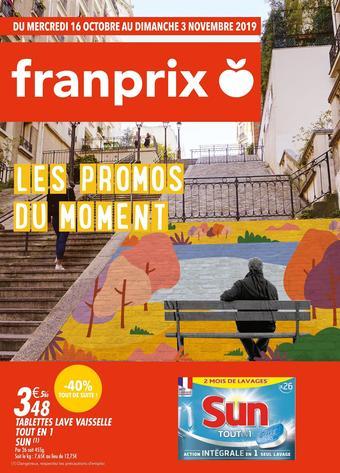 Franprix catalogue publicitaire (valable jusqu'au 03-11)