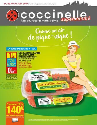 Coccinelle Supermarché catalogue publicitaire (valable jusqu'au 30-06)