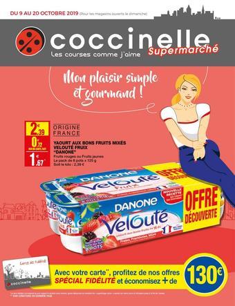 Coccinelle Supermarché catalogue publicitaire (valable jusqu'au 20-10)