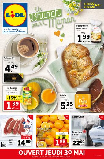 Lidl catalogue publicitaire (valable jusqu'au 28-05)