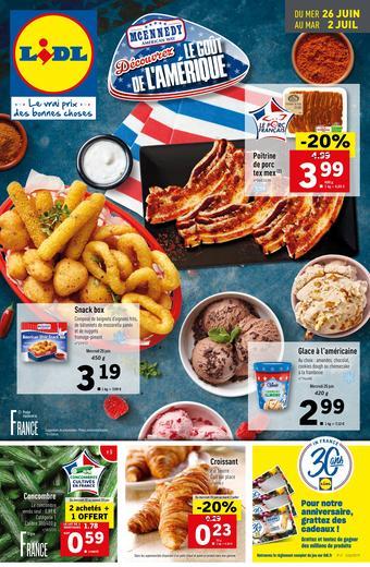 Lidl catalogue publicitaire (valable jusqu'au 02-07)