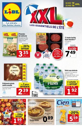 Lidl catalogue publicitaire (valable jusqu'au 16-07)