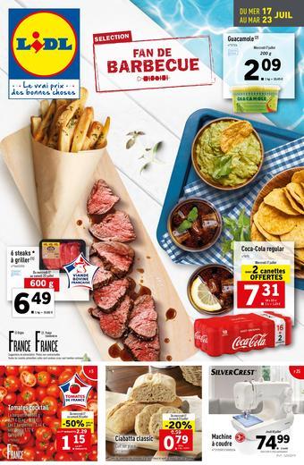 Lidl catalogue publicitaire (valable jusqu'au 23-07)