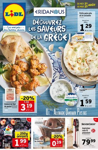 Lidl catalogue publicitaire (valable jusqu'au 27-08)