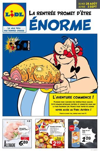 Lidl catalogue publicitaire (valable jusqu'au 03-09)
