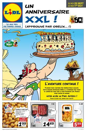 Lidl catalogue publicitaire (valable jusqu'au 01-10)