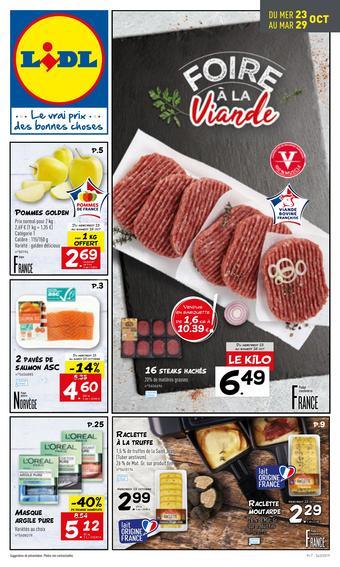 Lidl catalogue publicitaire (valable jusqu'au 29-10)