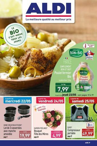 ALDI catalogue publicitaire (valable jusqu'au 27-05)