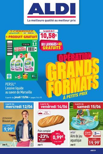 ALDI catalogue publicitaire (valable jusqu'au 16-06)