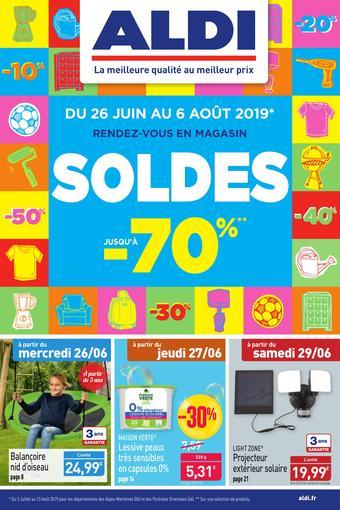 ALDI catalogue publicitaire (valable jusqu'au 30-06)