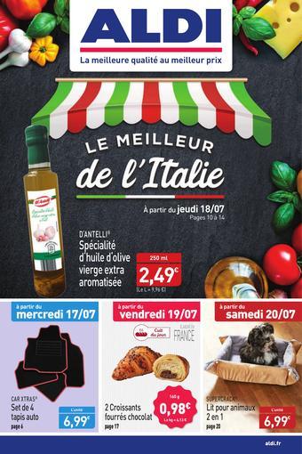 ALDI catalogue publicitaire (valable jusqu'au 21-07)