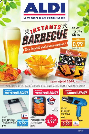 ALDI catalogue publicitaire (valable jusqu'au 28-07)