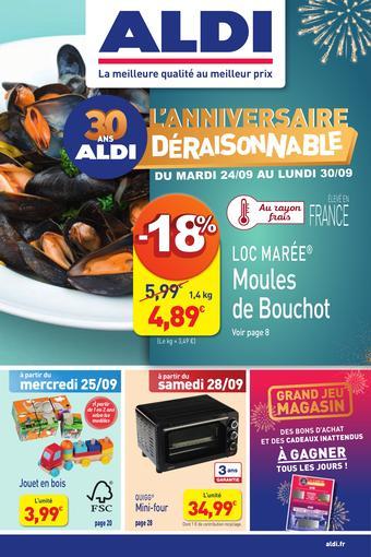 ALDI catalogue publicitaire (valable jusqu'au 29-09)