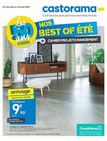 Castorama catalogue publicitaire (valable jusqu'au 19-08)