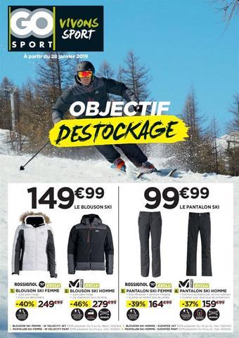 Go Sport catalogue publicitaire (valable jusqu'au 30-05)