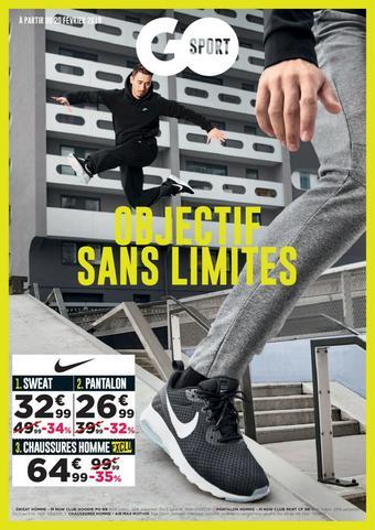 Go Sport catalogue publicitaire (valable jusqu'au 31-05)