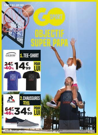 Go Sport catalogue publicitaire (valable jusqu'au 18-06)
