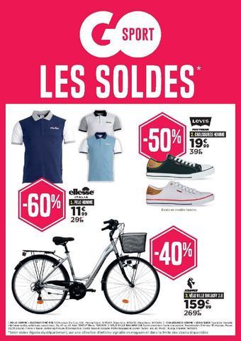 Go Sport catalogue publicitaire (valable jusqu'au 06-08)