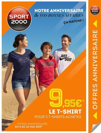 Sport 2000 catalogue publicitaire (valable jusqu'au 27-05)