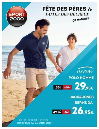 Sport 2000 catalogue publicitaire (valable jusqu'au 17-06)