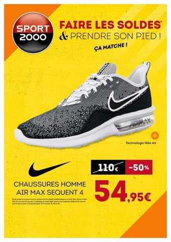 Sport 2000 catalogue publicitaire (valable jusqu'au 23-07)
