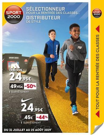 Sport 2000 catalogue publicitaire (valable jusqu'au 25-08)