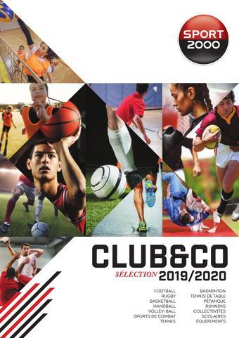 Sport 2000 catalogue publicitaire (valable jusqu'au 31-12)