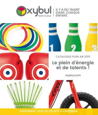Oxybul catalogue publicitaire (valable jusqu'au 31-08)