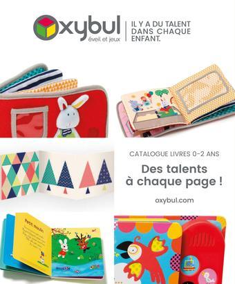 Oxybul catalogue publicitaire (valable jusqu'au 01-10)