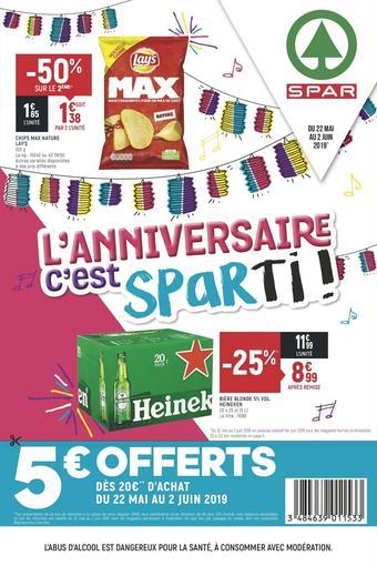 Spar catalogue publicitaire (valable jusqu'au 02-06)