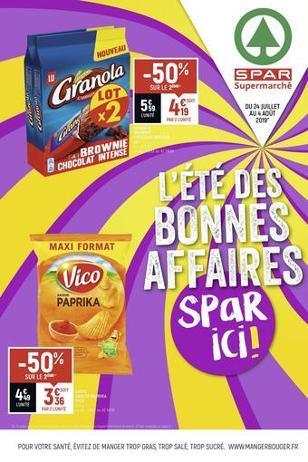 Spar catalogue publicitaire (valable jusqu'au 04-08)