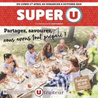 Super U catalogue publicitaire (valable jusqu'au 06-10)