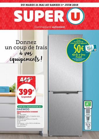 Super U catalogue publicitaire (valable jusqu'au 01-06)